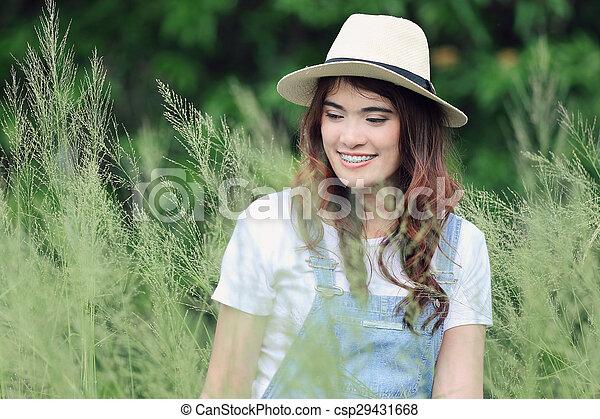 Asian woman - csp29431668