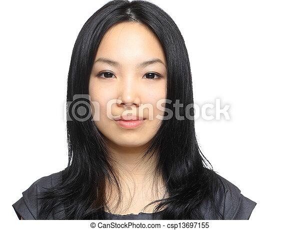 asian woman - csp13697155