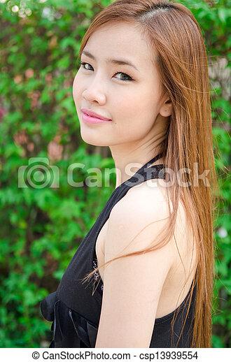 Asian woman - csp13939554