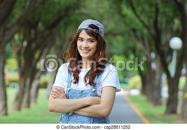 Asian woman - csp28811252