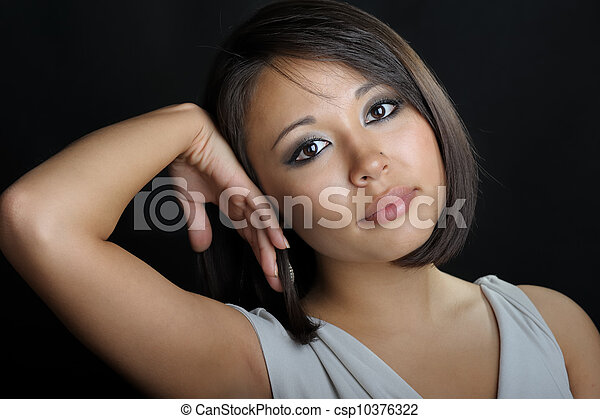 Asian woman - csp10376322