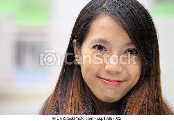 asian woman - csp13697022