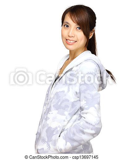 asian woman - csp13697145