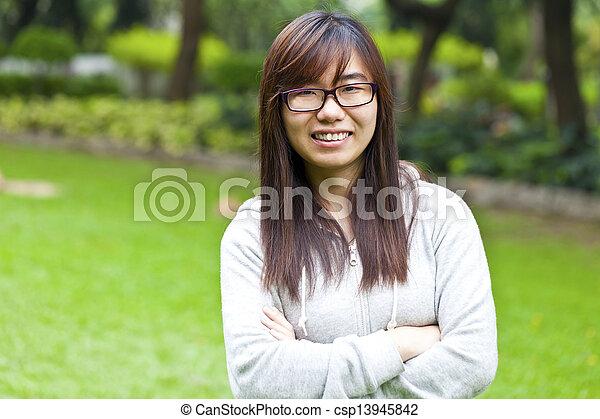 Asian woman - csp13945842