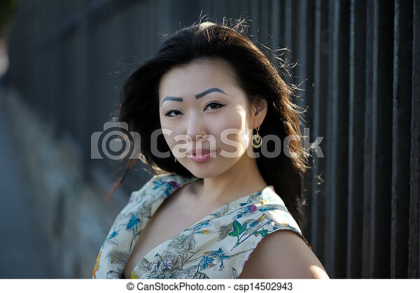 Asian woman - csp14502943