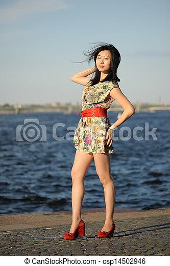 Asian woman - csp14502946