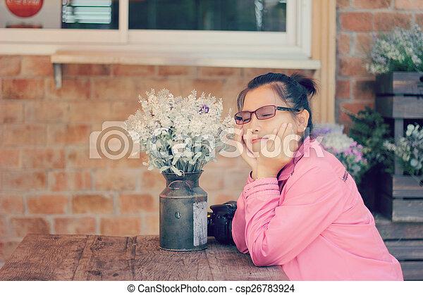 Asian woman - csp26783924