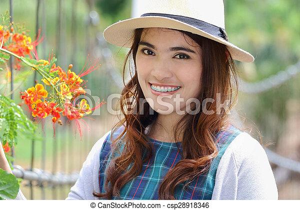 Asian woman - csp28918346