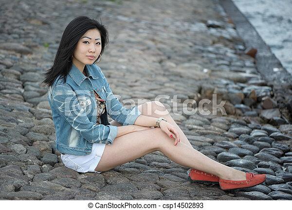 Asian woman - csp14502893