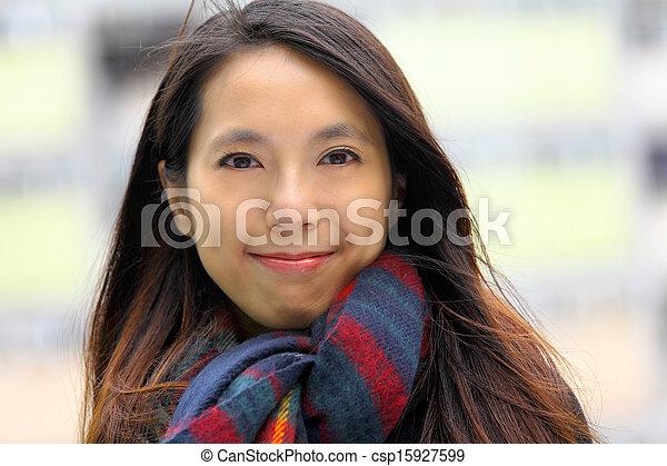 Asian woman - csp15927599