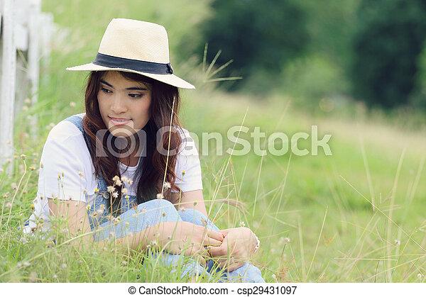 Asian woman - csp29431097