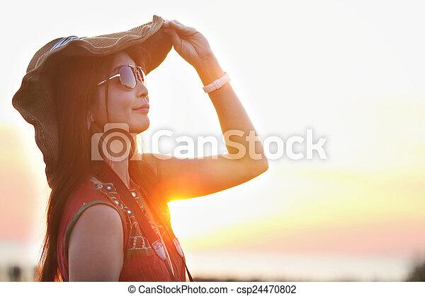 Asian woman - csp24470802