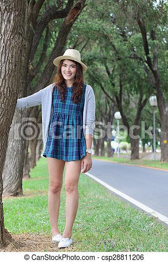 Asian woman - csp28811206