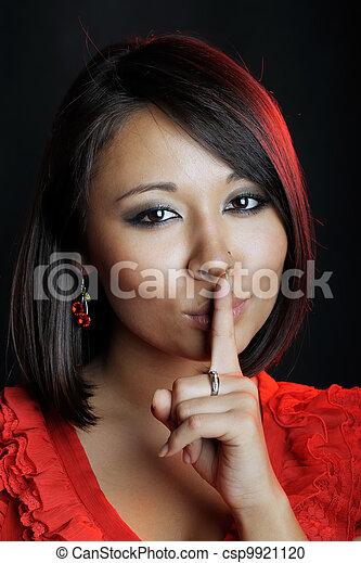 Asian woman - csp9921120