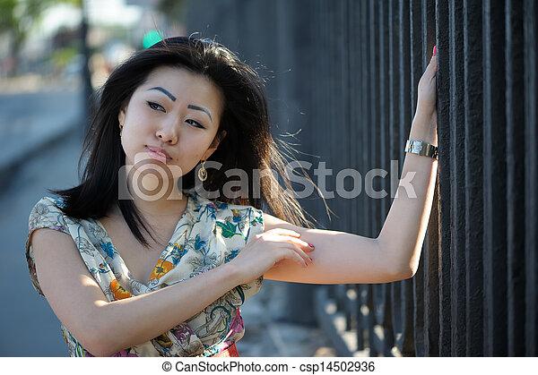 Asian woman - csp14502936