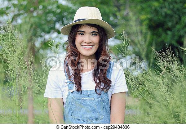 Asian woman - csp29434836