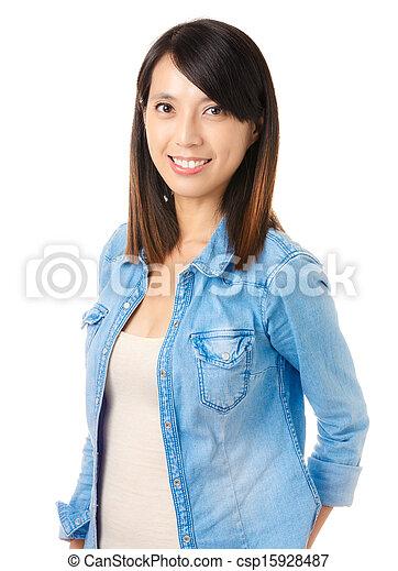 Asian young woman - csp15928487
