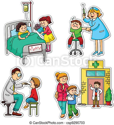 asistencia médica - csp9290703