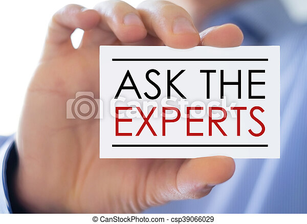 Ask the experts business card concept stock photo search ask the experts business card concept csp39066029 colourmoves