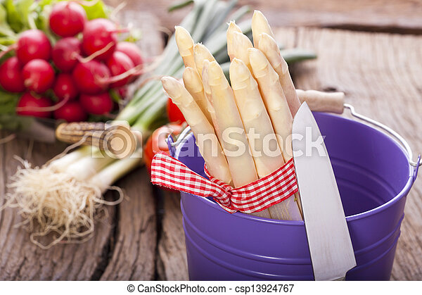 Asparagus and other vegetables - csp13924767