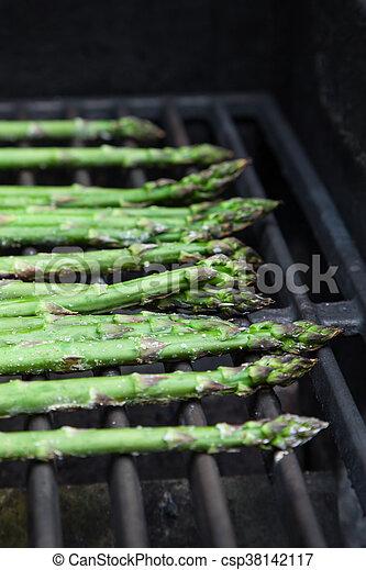 Asparagus on the Grill - csp38142117
