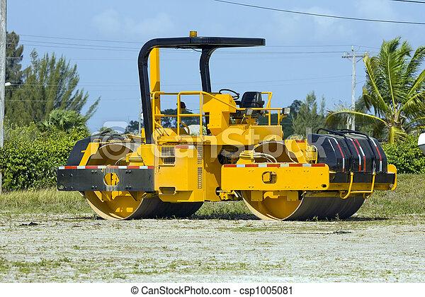 Asphalt roller - csp1005081