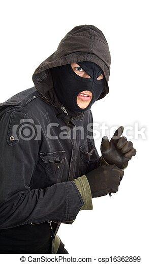 assaltante - csp16362899