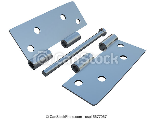 assembly metal hinges - csp15677067