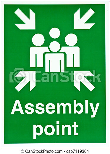 Assembly point - csp7119364