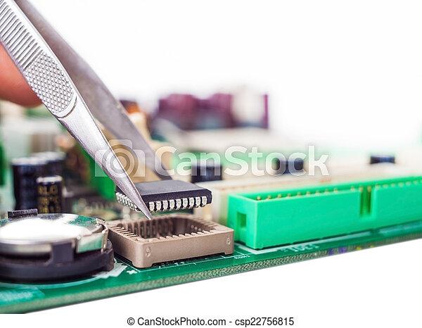 assembly repair tweezers - csp22756815