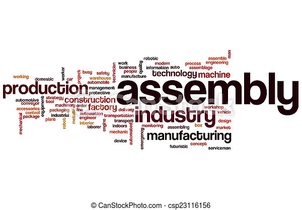 Assembly word cloud - csp23116156