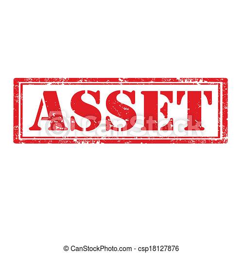 Asset-stamp - csp18127876