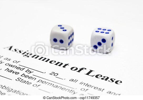 Assignment of lease - csp11749357