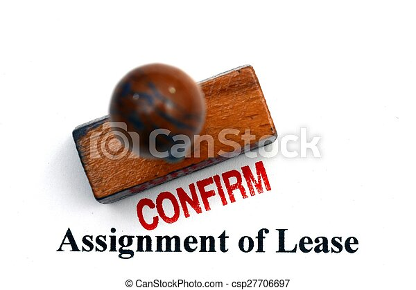 Assignment of lease - csp27706697