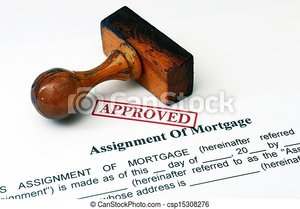 Assignment of mortgage - csp15308276