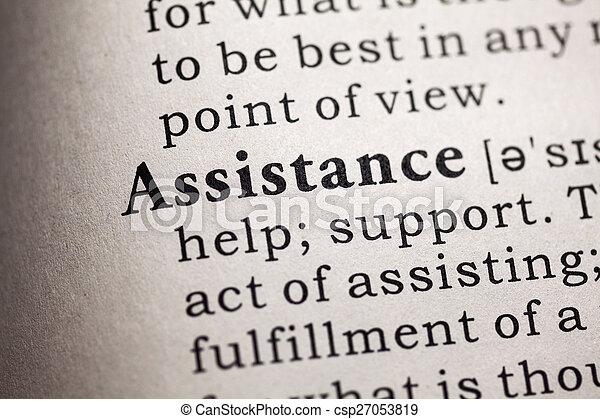assistance - csp27053819