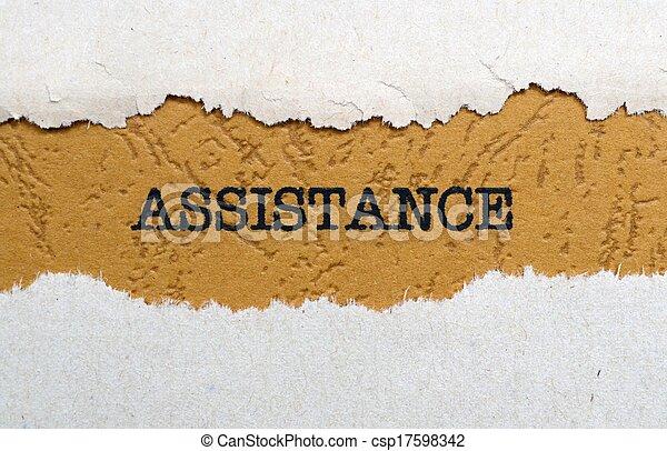 Assistance - csp17598342