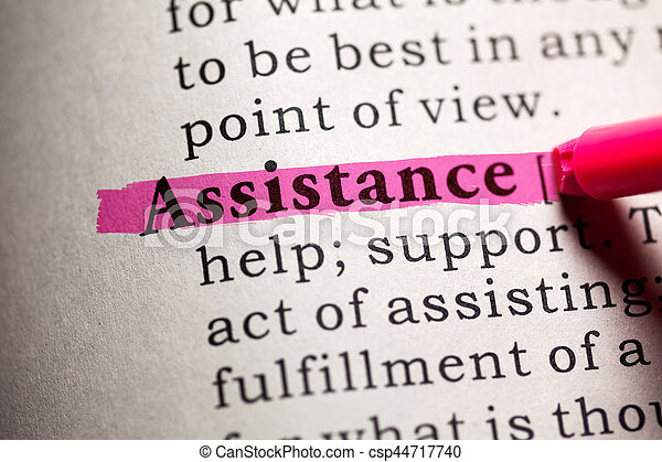 assistance - csp44717740