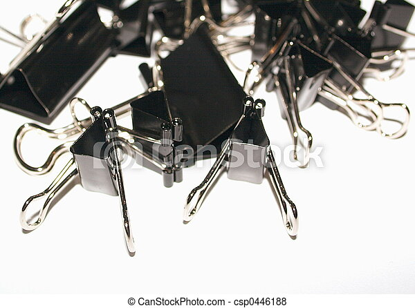 assorted bull clips - csp0446188