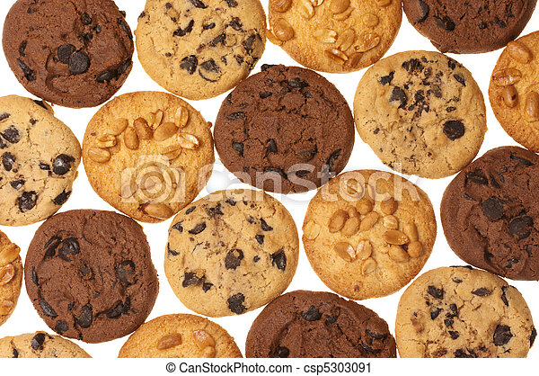 Assorted cookies - csp5303091