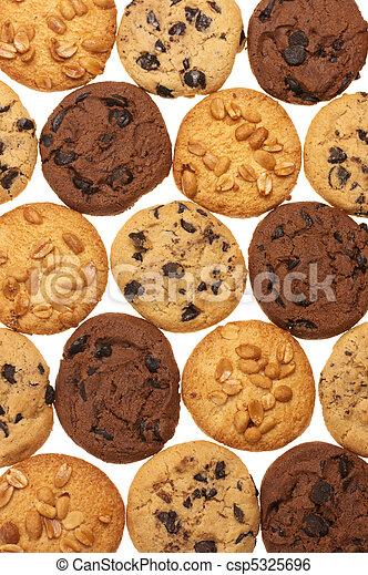 Assorted cookies - csp5325696