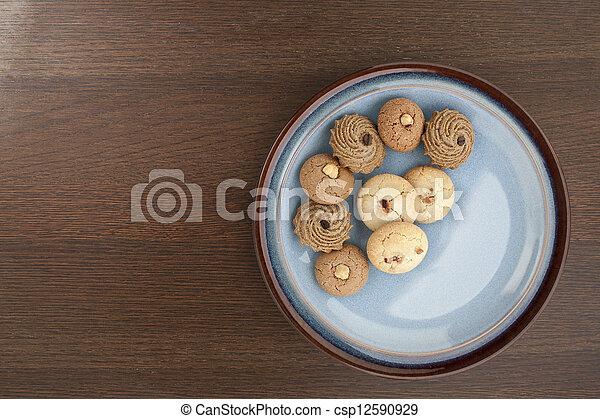 assorted cookies - csp12590929