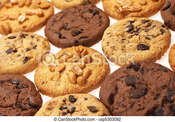 Assorted cookies - csp5303092