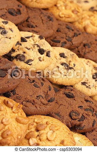 Assorted cookies - csp5303094