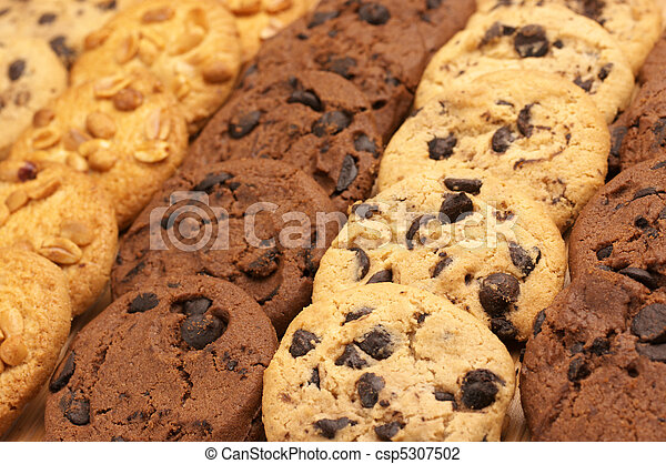 Assorted cookies - csp5307502
