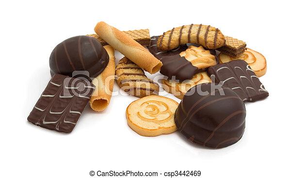 Assorted cookies - csp3442469