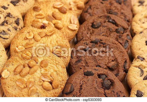 Assorted cookies - csp5303093