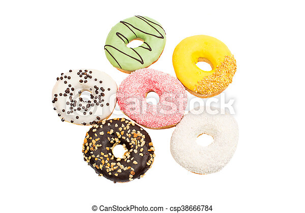 Assorted donuts - csp38666784