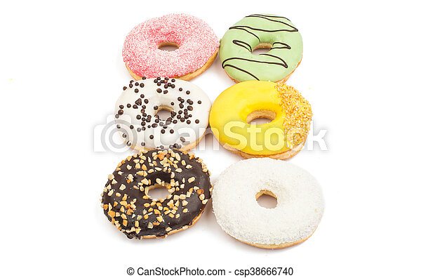 Assorted donuts - csp38666740