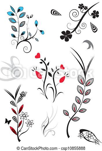 assorted flowers - csp10855888